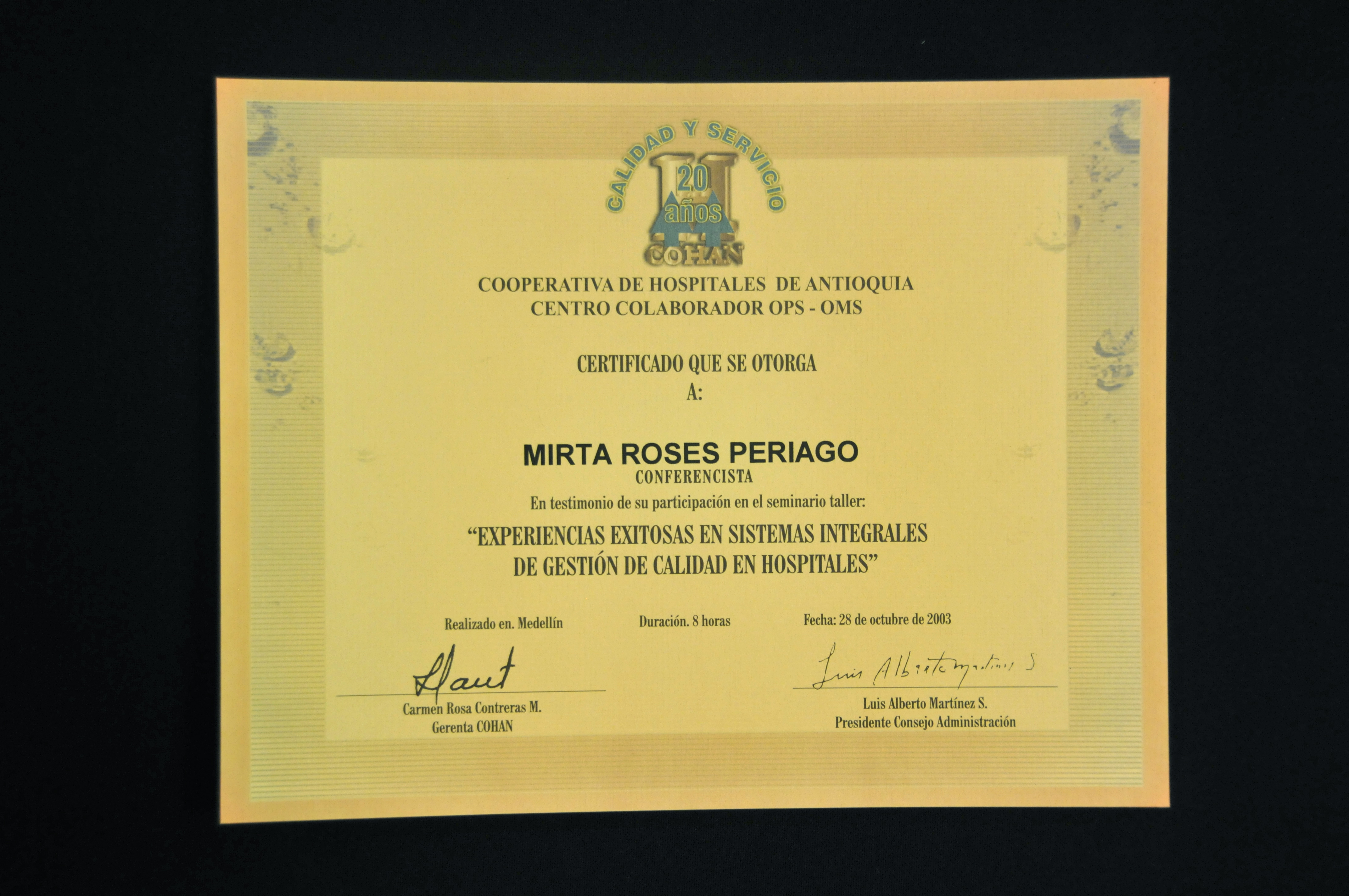 PAHO/WHO IRIS | Escudo de Gobernación de Antioquia;resolución 18078 ...