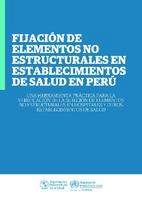 Fijación de elementos no estructurales en establecimientos de salud en Perú