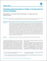Exploring social innovation in health in Central America and the Caribbean