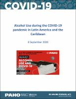 Alcohol Use during the COVID-19 Pandemic in Latin America and the Caribbean, 8 September 2020