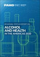 Regional Status Report on Alcohol and Health in the Americas 2020