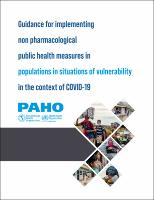Guidance for implementing non pharmacological public health measures in populations in situations of vulnerability in the context of COVID-19